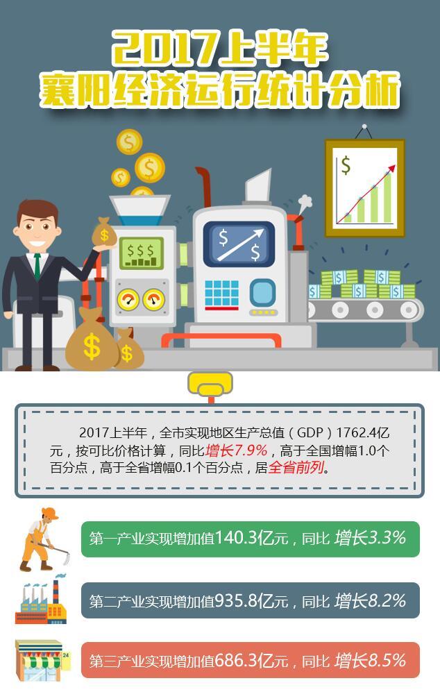 2017上半年襄阳经济运行统计分析