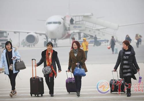 襄阳机场旅客年吞吐量突破80万人次